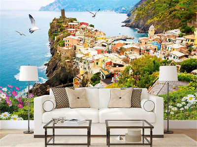 Rich Concise Cove 3D Full Wall Mural Photo Wallpaper Printing Home Kids Decor