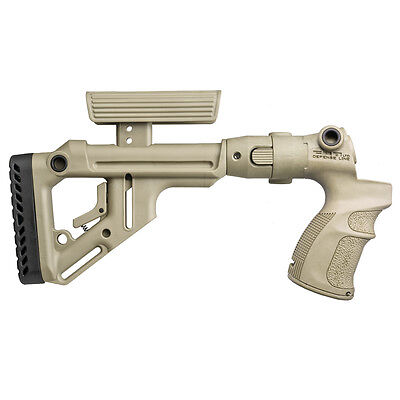 AGM 500 FK-S FAB Tan col MOSSBERG 500 SOLID PIECE PISTOL GRIP AND FULL BUTTSTOCK