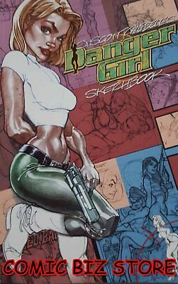 Danger Girl Sketchbook (2002) 1St Printing Bag & Boarded Dc Comics