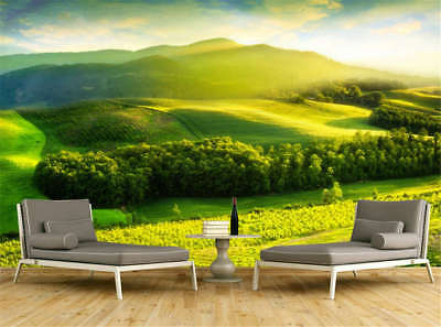 Novel Concise Land 3D Full Wall Mural Photo Wallpaper Printing Home Kids Decor