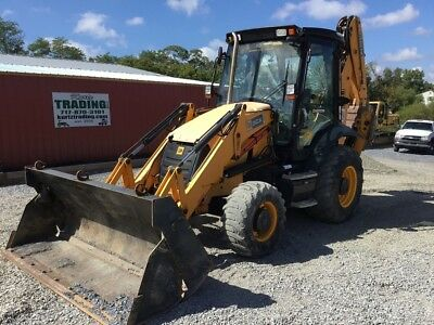 2009 JCB 3CX 4x4 Tractor Loader Backhoe w/ Cab and Extenda-Hoe!