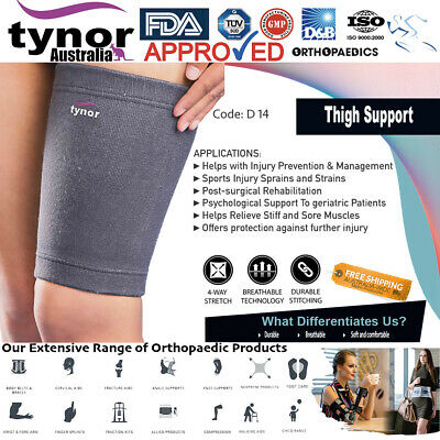 ISO WHO CE CERTIFIED Orthopaedic Thigh Hamstring Support Brace Wrap Sleeve Tynor