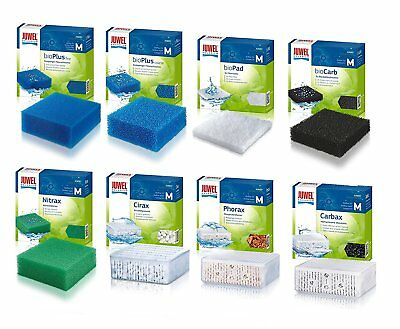 JUWEL AQUARIUM COMPACT 'M' FILTER FOAMS & MEDIA. Poly Pad, Fine, Coarse, Cirax