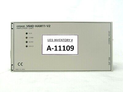 Omron V640-HAM11-V2 RFID Amplifier Unit Used Working
