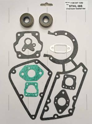 Gasket Set & Seals Fits Stihl Cut Off Saw 08S BT360 TS350 TS360 - 1108-007-1050