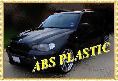 Bmw X5 E70(2007-2014) Eyebrows Headlight Brows Abs Plastic  New Tuning Trims Hit