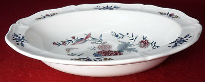 WEDGWOOD china WILLIAMSBURG POTPOURRI pattern OVAL VEGETABLE Serving BOWL 9-2/3""