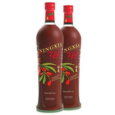 YOUNG LIVING NINGXIA RED BOTTLES 2 Pack **BRAND NEW - SEALED** (2 - 750ml)