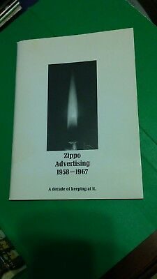 Vintage ZIPPO ADVERTISING 1958-1967 a decade of keeping at it Readers Digest Ads