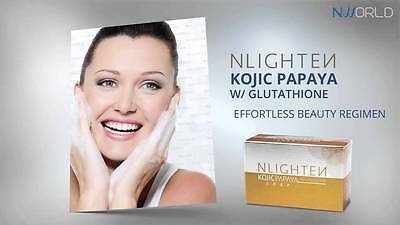 NLIGHTEN Kojic Papaya Beauty Bar Soap Lightening with GLUTHATIONE by NWORLD