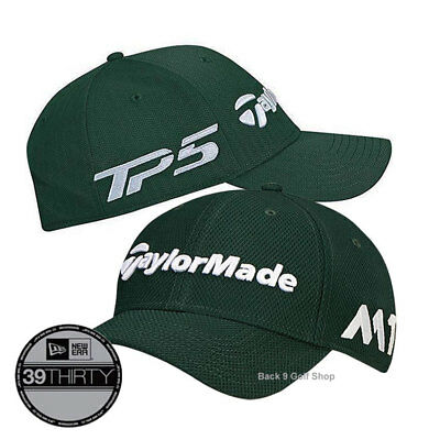 5603a430952 TaylorMade New Era 39Thirty Golf Hat Green - All Sizes Closeout Price