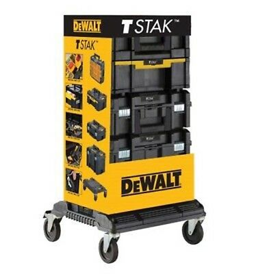 Dewalt DWST1-81048 Tstak Tower - Includes 4 Cases with Wheeled Trolley / Cart
