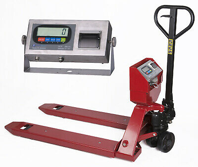 Pallet Jack Scale with Built-in Printer l 5000 lb Capacity