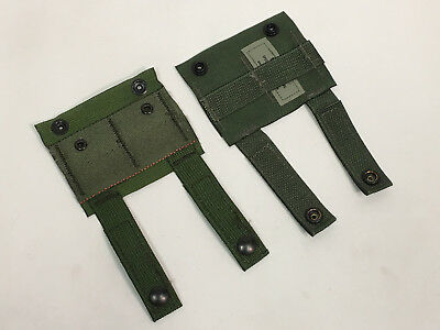 NEW LOT OF 2 MOLLE ALICE Adapters OD Green USGI