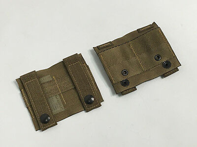 SET OF 2 NEW US Military Coyote ALICE Adapter MOLLE PALS ALICE Clip