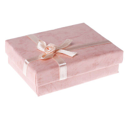 Jewelry Gift Boxes for Pendant Bracelet Earring Necklace Ring Birthday Present