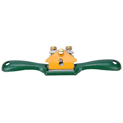 Iron Spoke Shave Plane 44mm Cutting Edge Metal Wood Shaping Woodworker