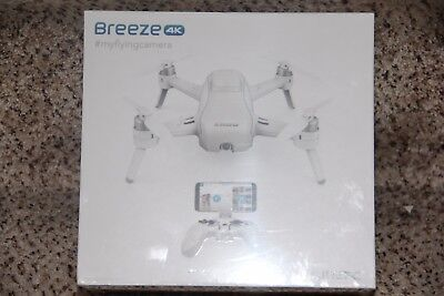 New Yuneec Breeze Drone With 4K Camera Bluetooth Controller Included