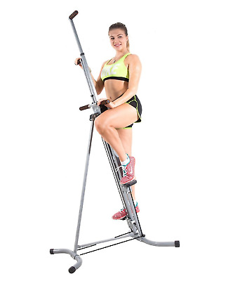 X Factor Vertical Climber Machine Exercise Stepper Cardio Fitness w Monitor