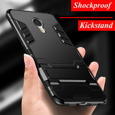 For Meizu A5 M5S M5 M6 Note Shockproof Hybrid Case Armor Rugged Kickstand Cover