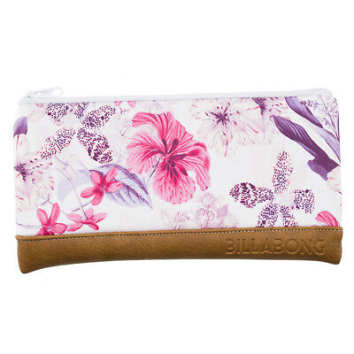 Billabong Lost Lily Pencil Case in White