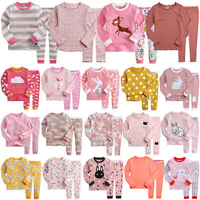 "Vaenait Baby Kids Toddler Girls Long Pjs Pyjamas Set 12M-7T ""G50 Style"""