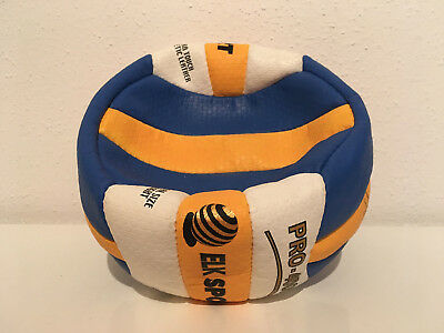 Volleyball ELK Sport / PRO - 4000 / Beach-Volleyball blau gelb weiß