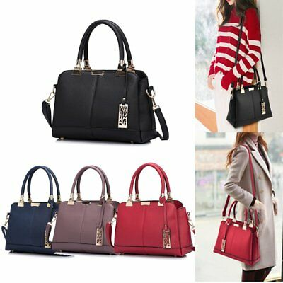 Fashion Ladies Women Leather Handbag Shoulder Bag Messenger Tote Purse Satchel