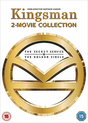 Kingsman - 2-Movie Collection (DVD) Samuel L. Jackson, Colin Firth