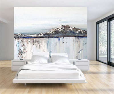 Distant Concise Lake 3D Full Wall Mural Photo Wallpaper Printing Home Kids Decor