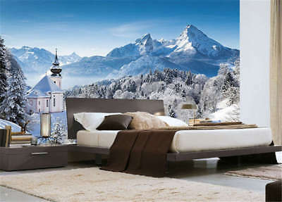 Moist Lonely Hills 3D Full Wall Mural Photo Wallpaper Printing Home Kids Decor
