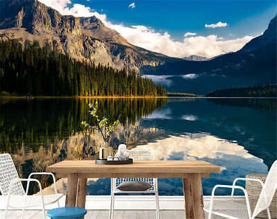 Classic Concise Lake 3D Full Wall Mural Photo Wallpaper Printing Home Kids Decor