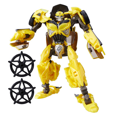Transformers The Last Knight Premier Edition Deluxe Bumblebee Figure Convertible
