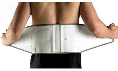 Double Pull Lumbar Back Support Back Brace - BNIB