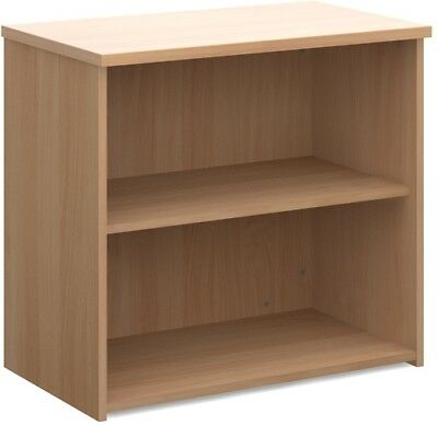 Standard bookcase 740mm high in beech
