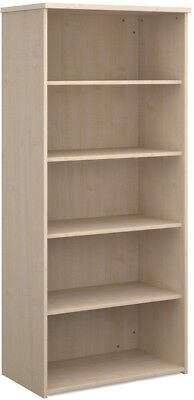 Standard bookcase 1790mm high in white