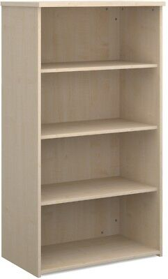 Standard bookcase 1440mm high in maple