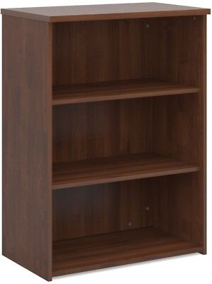 Standard bookcase 1090mm high in walnut