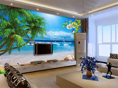 Vital Compatible Sea 3D Full Wall Mural Photo Wallpaper Printing Home Kids Decor