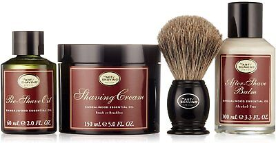 4 Elements of the Perfect Shave Full Kit, The Art Of Shaving, Sandalwood