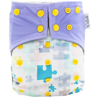 Puzzle Design Bamboo Charcoal Cloth Nappy