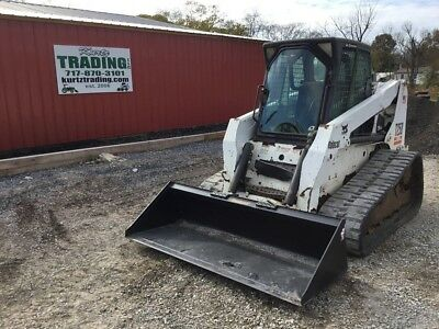2005 Bobcat T250 Tracked Skid Steer Loader w/Cab!