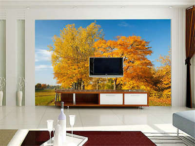 Mature Concise Tree 3D Full Wall Mural Photo Wallpaper Printing Home Kids Decor