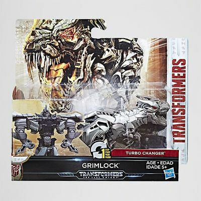 NEW Transformers The Last Knight 1 Step Turbo Changer Grimlock