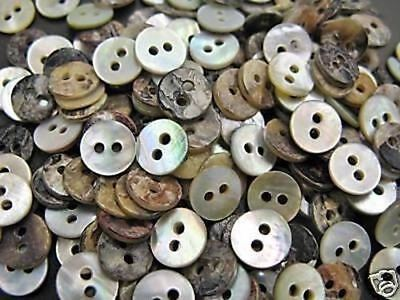 Lot 1000 14L 9mm Japan DIY Wholesale Real Shell Shirt Button MOP Mother of Pearl