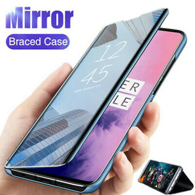 Mirror Clear View Wallet Flip Stand Case Cover For iPhone XS Max XR X 8 7 6 Plus