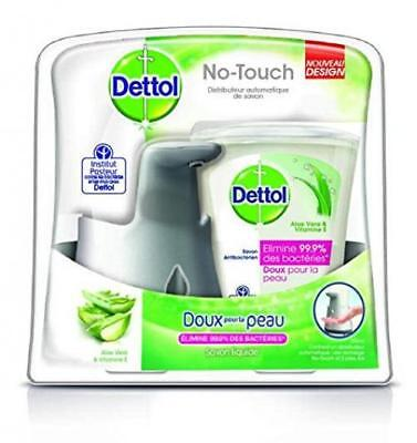 Jabón, dispensador automático de Dettol No Touch Efecto Kit Inox 250 ml
