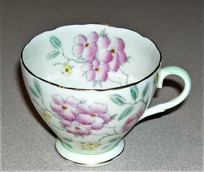 Foley Bone China Tea Cup, Floral Pattern V2600, Made in England