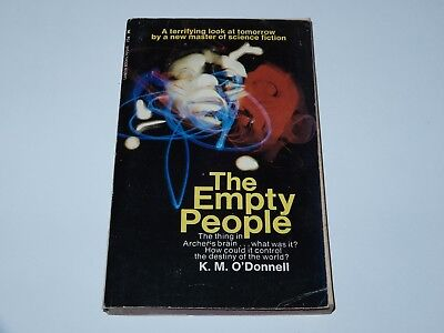 The Empty People - K.m. O'donnell - Lancer Books 1St Pb Edition 1975 Sci-Fi Sf