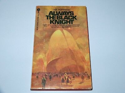 Always The Black Knight - Lee Hoffman - Avon Books 1970 1St Pbo Sci-Fi Sf